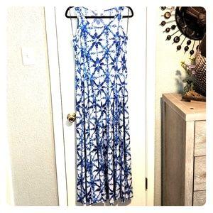 Michael Kors sleeveless long dress